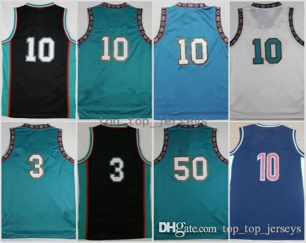 8a1eb9f90e54 Men Basketball 3 Shareef Abdur-Rahim Jerseys Abdur Rahim 10 Michael ...