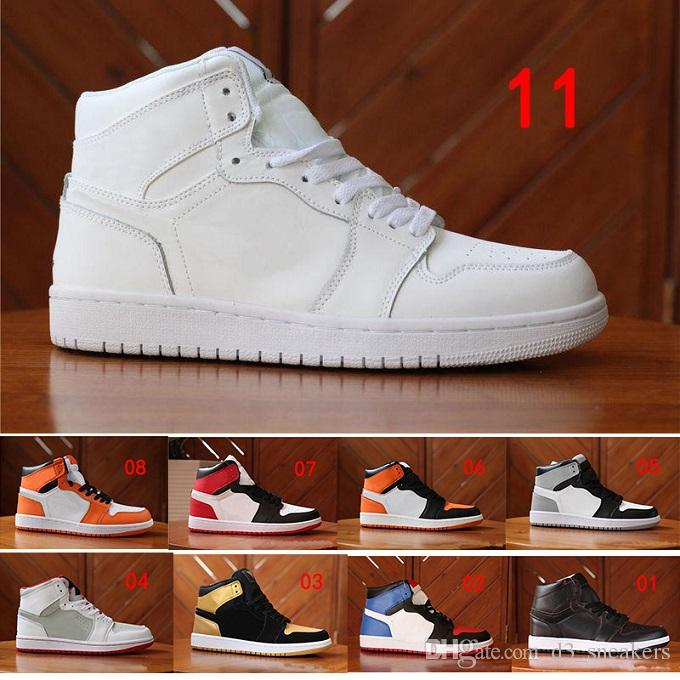 more photos 333c1 a896e Großhandel Nike Air Jordan 1 Retro Basketball shoes Großhandel Günstige 1  Top 3 Banned Gezüchtet Red Chicago Og Royal Mid Hare Herren Casual Outdoor  Schuhe ...
