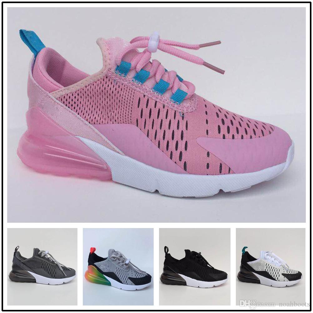 size 40 8ce69 9a3b9 Compre Nike Air Max Airmax 270 Vapormax 2018 New Girl Boys 270 Kids Running  Shoes Plastic Training Outdoor Airs Sole 270s Niños Entrenadores Zapatos ...