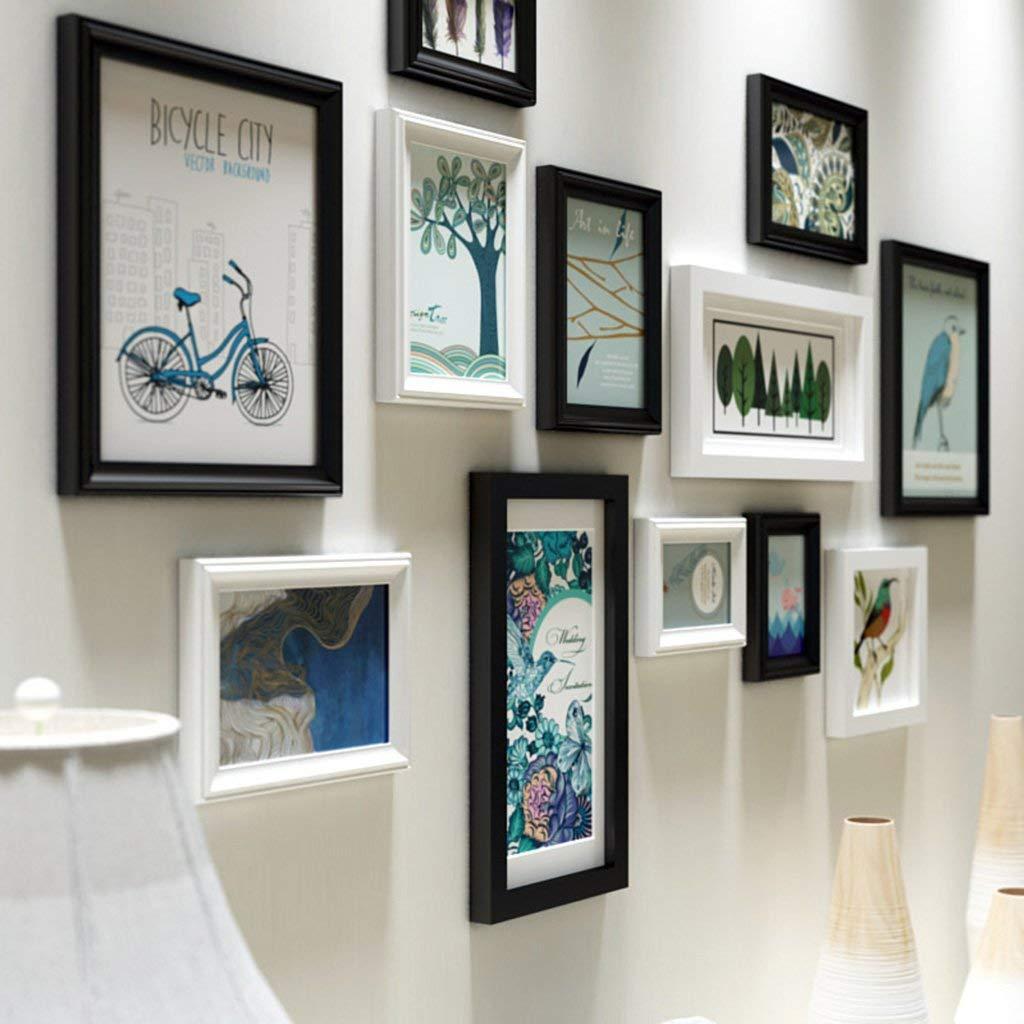 Großhandel 12 Stück Gemischte Farben Bilderrahmen Wall Gallery Kit ...