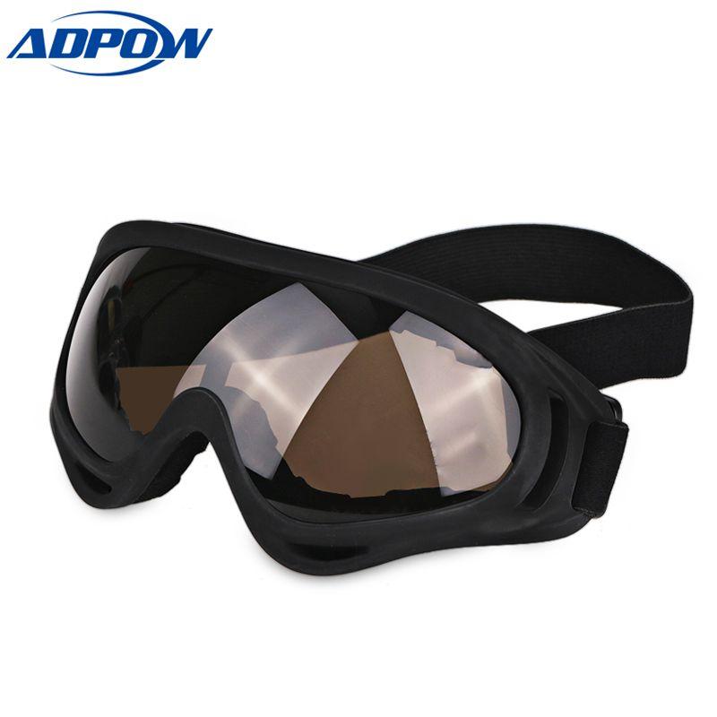 99821c9d8c18 Motorcycle Motocross Goggles Glasses For Helmet Motor Moto Men Tinted Dirt  Bike Off Road Racing Goggles Lens Motorbike Black Biker Prescription  Sunglasses ...