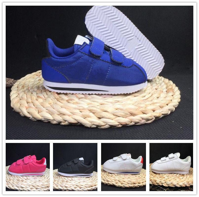Compre Nike Cortez 2018 Nueva Marca Al Aire Libre Para Niños Zapatos  Deportivos Zapatillas Para Niños Niños Zapatillas De Deporte Niñas Calzados  Informales ... 82fbb8a5625