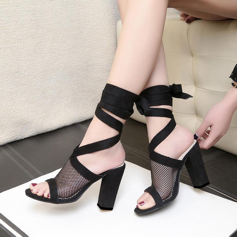 Women S Shoes 2018 Sandals And Slippers New Beaded Embroidery And Slippers  With Sexy Fishnet Mesh Gauze Womens Sandals Sandals For Men From Ye1993 c587f3240fad