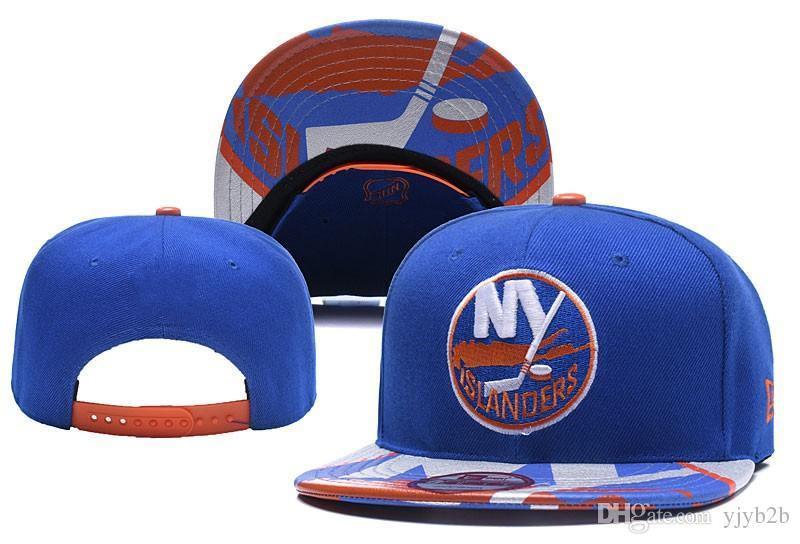 cd56e3fde9f 2018 New York Islanders Hockey Snapback Hats Embroidered Team Logo ...