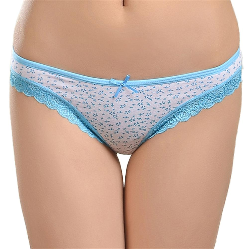 2019 LOLOISIS Woman Underwear Cotton Lace Floret Printed Sexy Panties  Briefs Knickers Intimates Lingerie For Women   From Freea 46a69a589