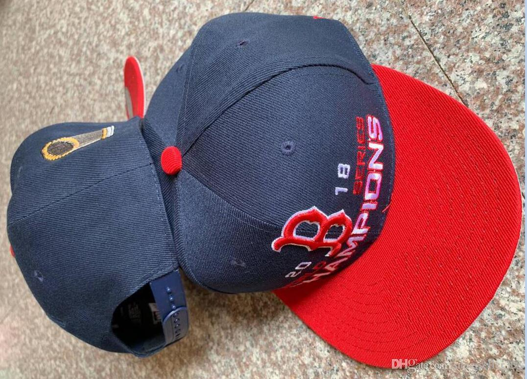 2018 Boston CHAMPIONS Cap WS SOX Champs HAT Sideline Cold Weather ... d552acebd20