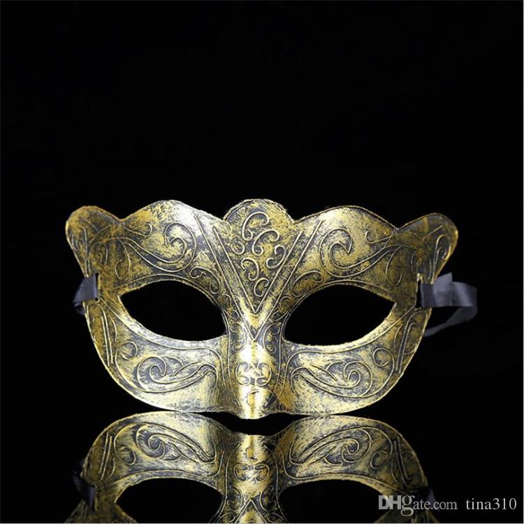 The New hot sale Creative personality plastic adult mask party partying antique male and female masks T4H0249