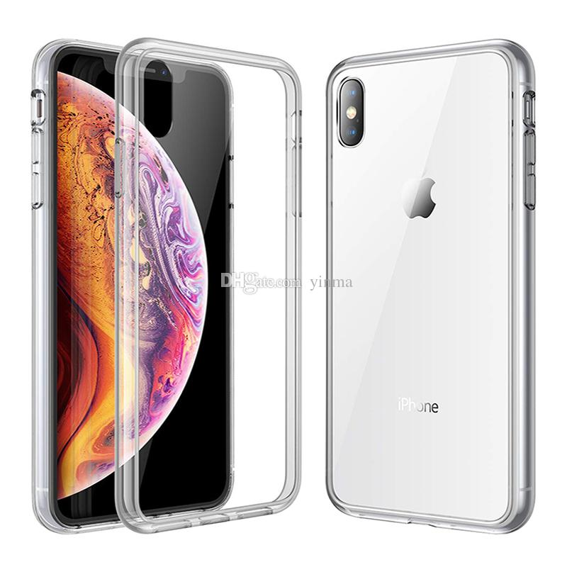 iphone xs/x mimic tempered glass case