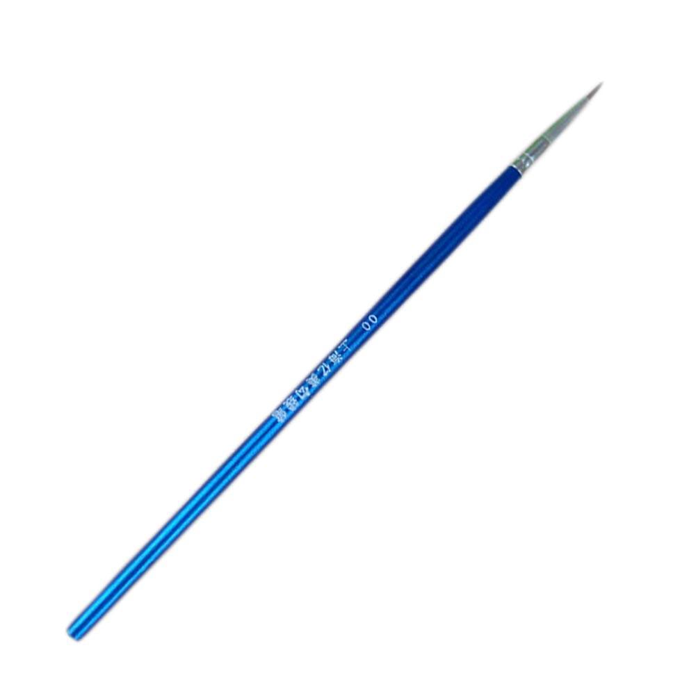 Satın Al 1 Adet Ince El Boyalı Ince Kanca Hattı Kalem Mavi Sanat