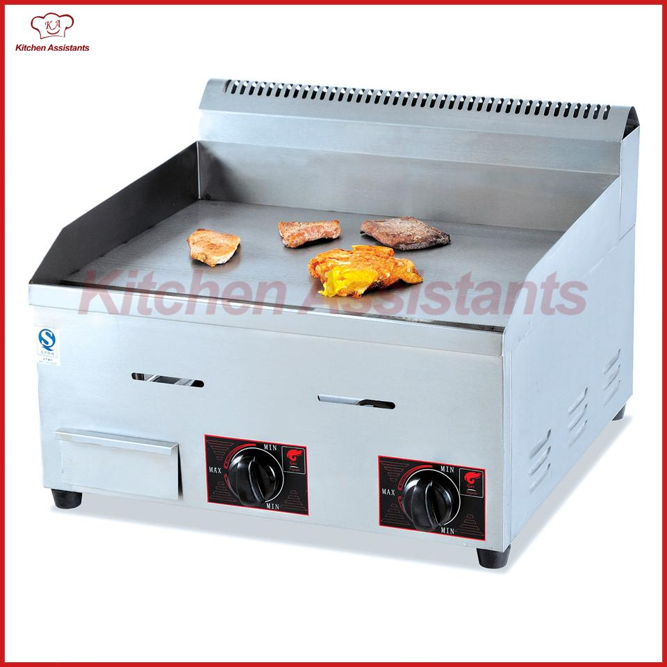 GH718 Gas Counter Top Griddle for Pancakes Steak Gas Griddle Grill ...