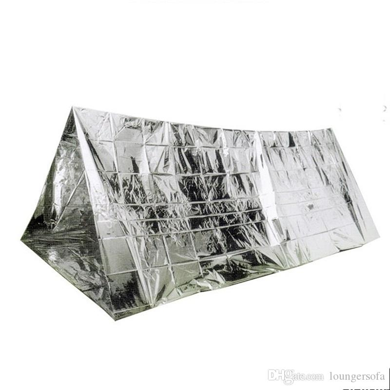 Outdoor Gear Silver Foil Tents Wind Proof Shelters Oversize Insulation Living Blanket Sleeping Emergency Anti Heat Tents 6gt bZ