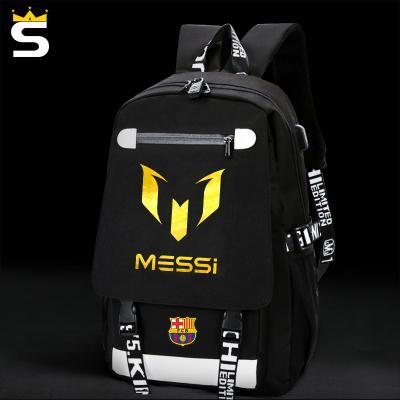 Usb School Bags Messi Cristiano Ronaldo CR7 Teen Bookbag Backpack Men Back  Pack Male Bag Kids Gift Book S Juventus Kids Canada 2019 From Keroyeah 7c6dbad769f70