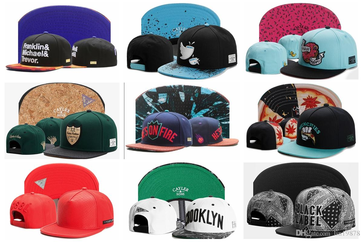 09e04a4abfe Cayler   Sons Branded Snapback Caps Men Spring Baseball Cap Unisex Letter  Hip Hop Hat For Men Casual Adjustable Dad Hats Bone Masculino Mesh Hats  Superman ...
