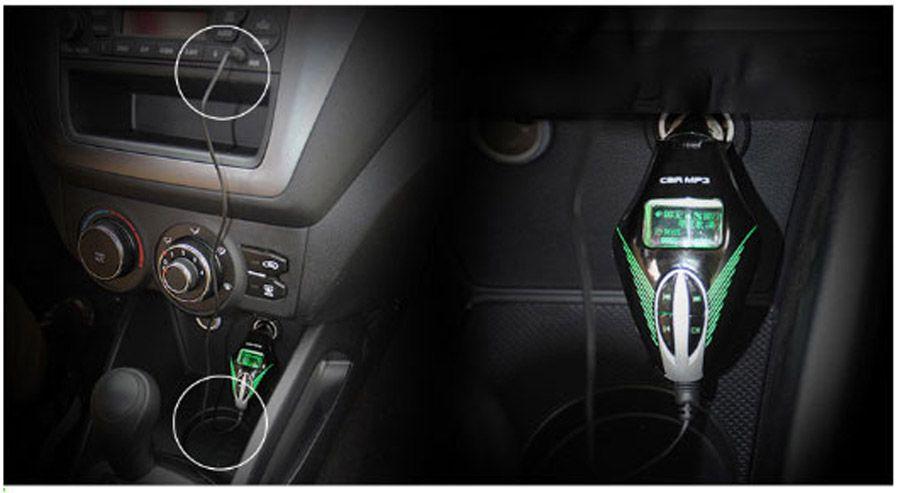 Auto MP3-Player Audio Stereo Radio Funkmodulator FM Transmitter Unterstützung USB Ladegerät 3 Farben T658