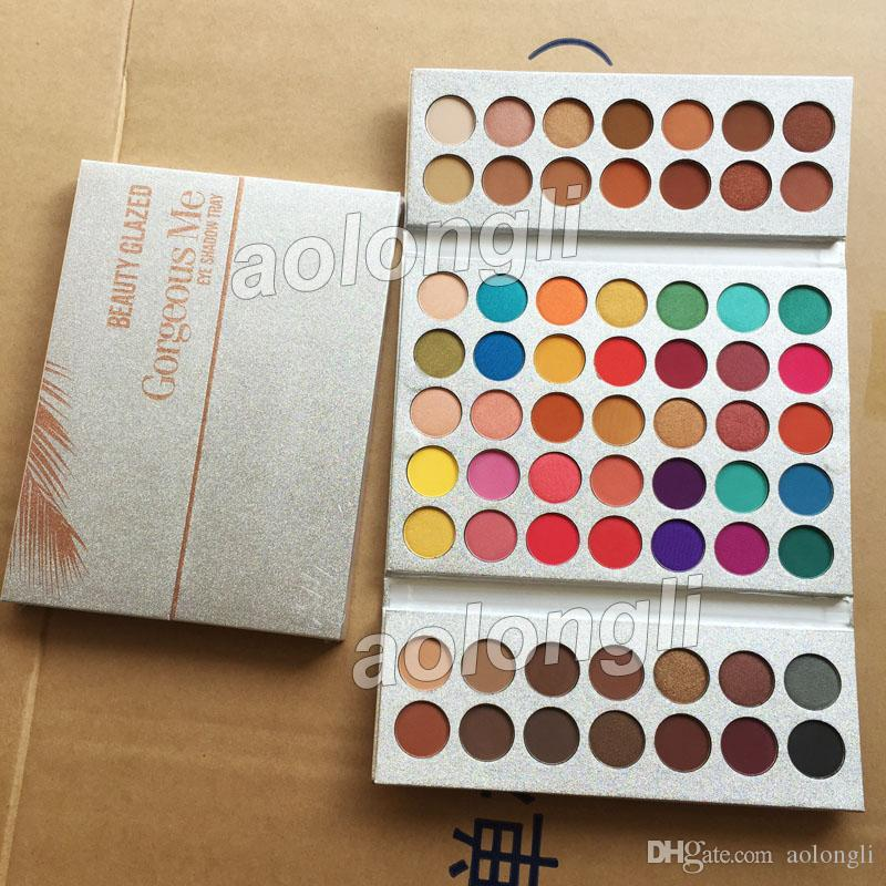 Beauty Essentials Beauty Glazed Eyeshadow Palette Professional Eye Makeup Set Pigment Long Lasting Matte Eye Shadow Palette Cosmetic Kit Nature Convenient To Cook