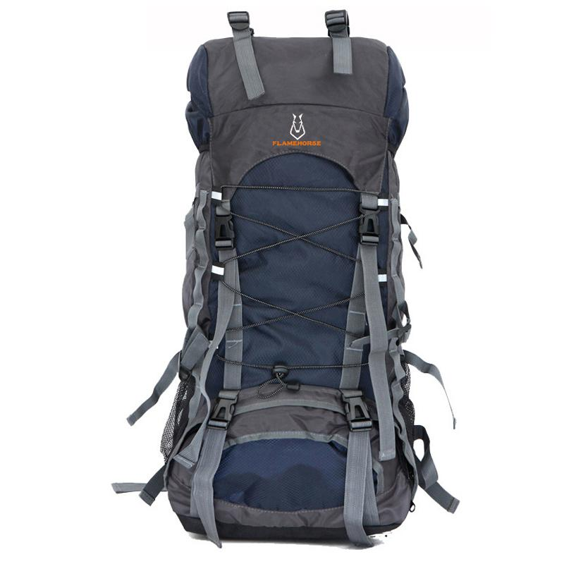 60199ff01442 Hot 60L Nylon/Oxford Waterproof Dry Bag Outdoor High Quality Travel  Backpack Men Women Camping Mountaineering Hiking Backpacks