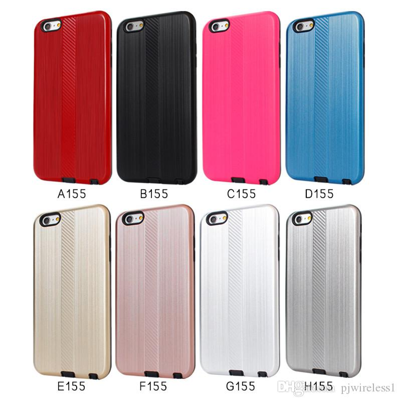 new product e6f45 55bc8 Armor Dual Layer Shockproof Phone Case For Alcatel A3 Plus For Alcatel A3  For Alcatel A5 With Opp Packaging A