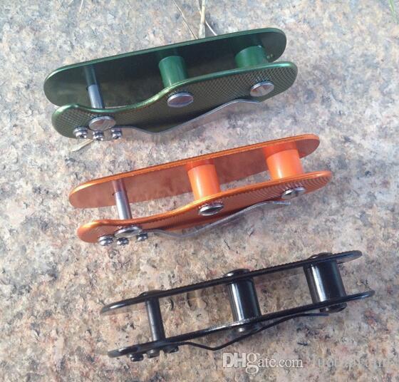 Nova EDC Multi-uso de Alumínio Titular Clipe Chave Chaves Dobráveis Braçadeira Chave Bar Anel Organizador Clipe Ferramenta de Bolso