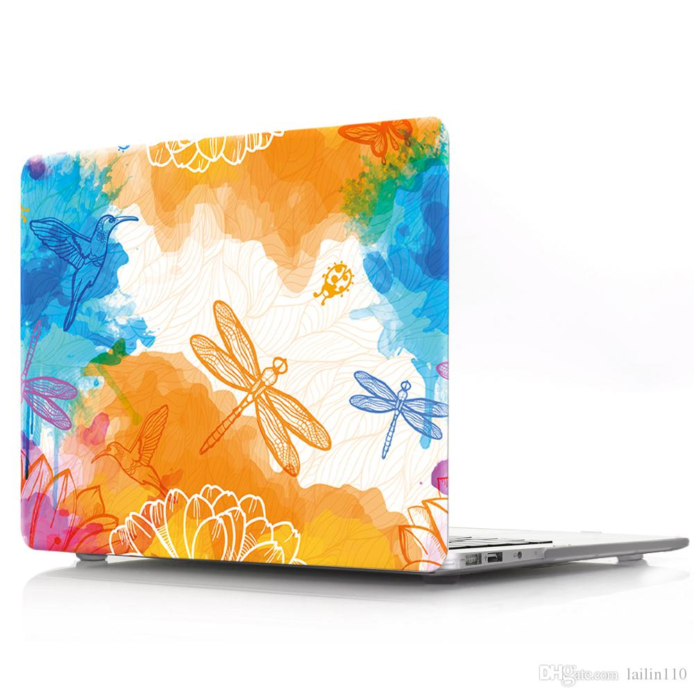 Graffiti-3 Oil painting Case for Apple Macbook Air 11 13 Pro Retina 12 13 15 inch Touch Bar 13 15 Laptop Cover Shell