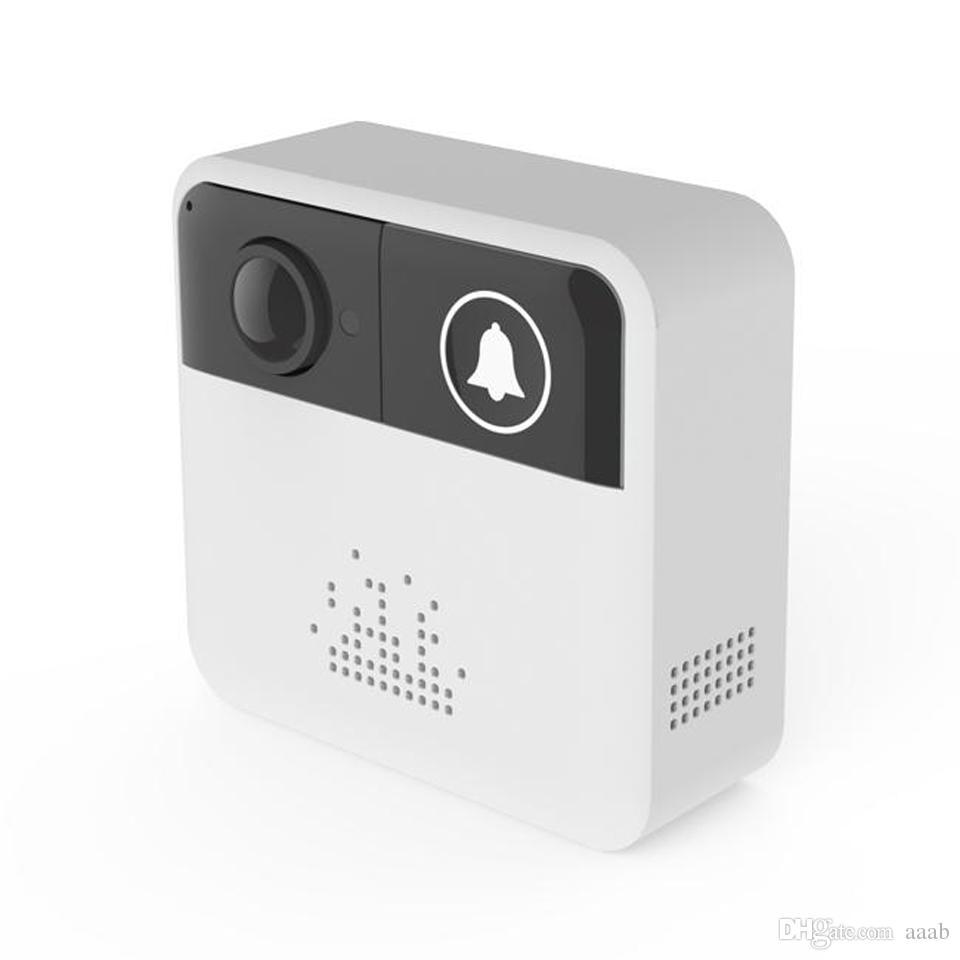 Smart Wireless Doorbell HD 720P WiFi Video Doorbell Camera Door Bell Ring  Alarm Chime Door Phone Intercom/Audio Free APP Control iOS Androi