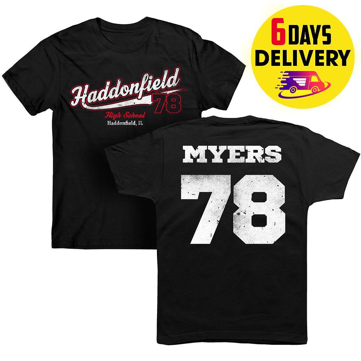 Michael Myers T Shirt Haddonfield High School Horror Movie