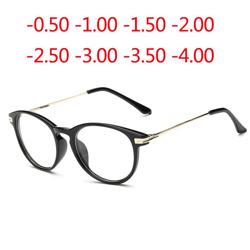 186f002ac58 2019 Good Quality Finished Myopia Eyeglasses Optical Men Women Student  Eyewear AC Lens Prescription Glasses Frame 0.5 4.0 From Kuchairly