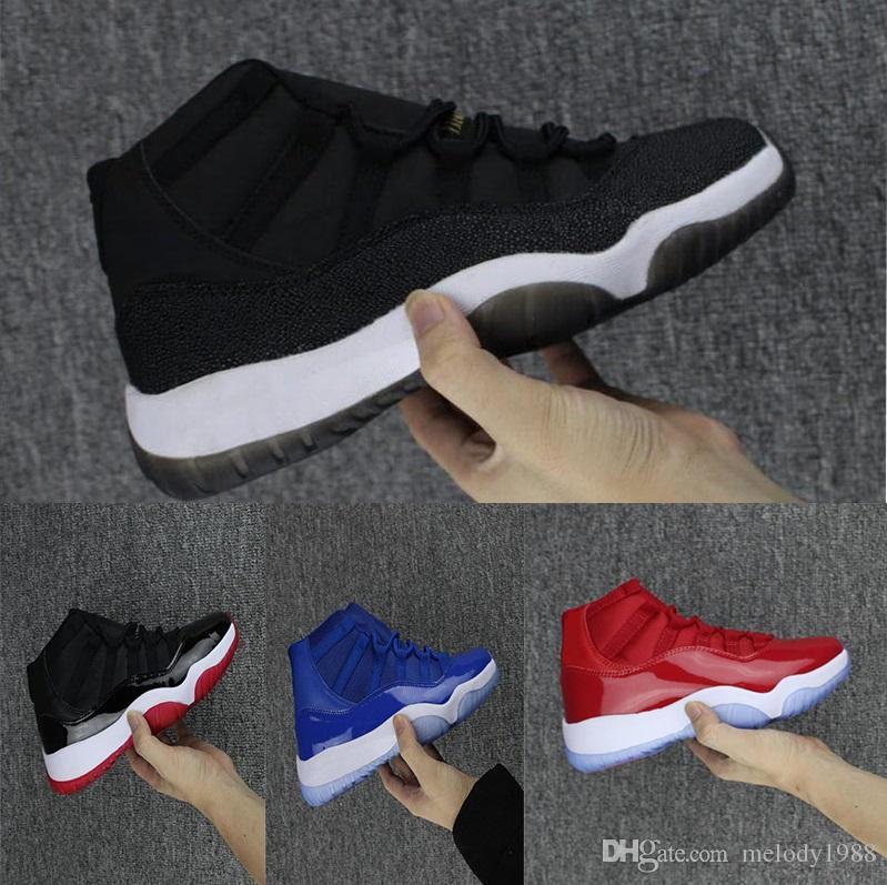 online store 6974f c1a93 Großhandel J03 2 2018 Nike Air Jordan 11 Retro Space Jam Basketball shoes  11 11s Space Jam Mode Outdoor Schuhe Männer Frauen Gewinnen Wie 82 J11  Gewinnen ...