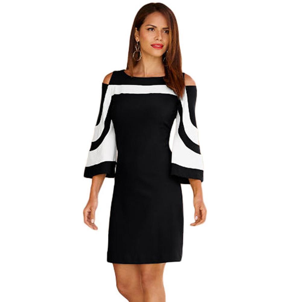 pretty nice fe498 36076 Arbeitskleidung Elegant Damen Großhandel Schwarz Kleider ...