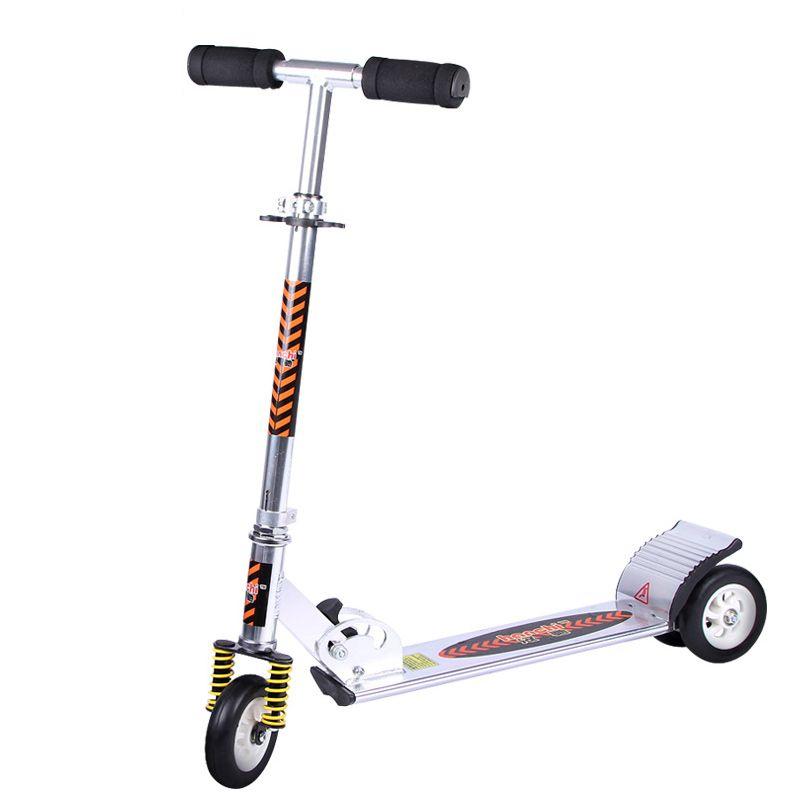 Sport & Unterhaltung Rollschuhe, Skateboards Und Roller 2 Rad Roller Für Erwachsene Kinder Folding Tragbare Mini Fahrrad Erwachsene Tretroller Höhe Einstellbar Roller Professionelles Design