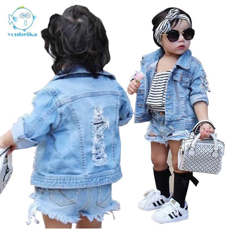 468c9186981e Toddler Boys Jean Jackets Denim For Boy Girls Coats Kids Girl ...