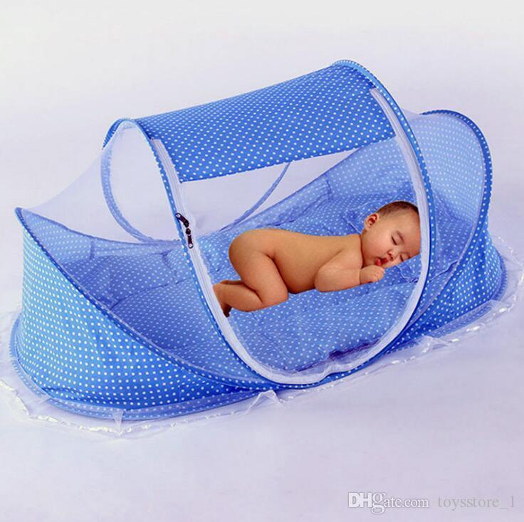 bce606a98cb New Baby Crib 0 3 Years Baby Bedding Mosquito Net Portable Foldable Baby  Bed Crib Mosquito Netting Cotton Sleep Travel Bed Set Netting For Crib Baby  Crib ...