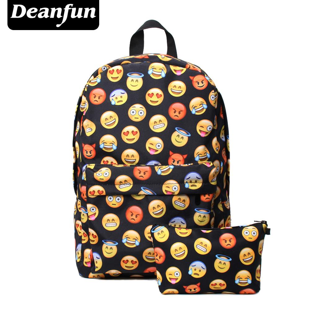 26d71bcd73 Deanfun Printing Emoji Backpack Fashion Youth Schoolbags For Teenager Girls  Boys TZ1 Y1890401 Osprey Backpack Tool Backpack From Shenyan02