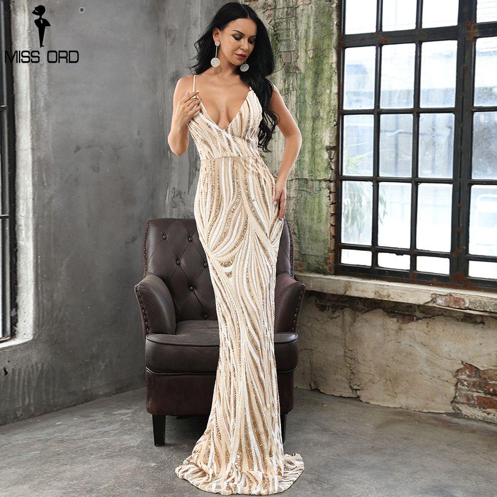 c676029229f1 2019 Missord 2018 Sexy Graceful V Neck Off Shoulder Sequin Dresses Female Maxi  Party Dress Vestidos FT8927 1 S920 From Ruiqi02, $64.07 | DHgate.Com
