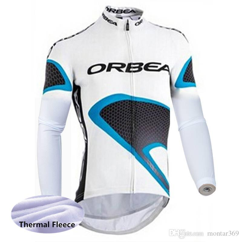 2018 Orbea Men Cycling Jersey Long Sleeves Fleece Thermal Winter Cycling  Clothing Long Hot Sale Ropa Ciclismo Hombre 2015L Mtb Clothing Best T  Shirts For ... 4084c0bbe