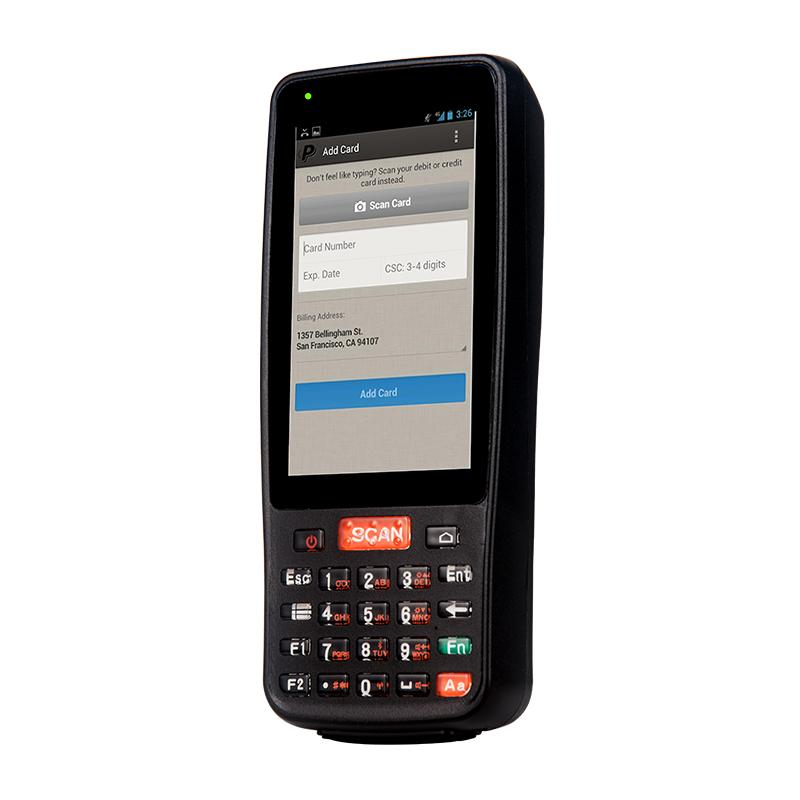 Rugged handhedld Android mobile payment termina with barcode scanner,nfc  reader, 4G LTE