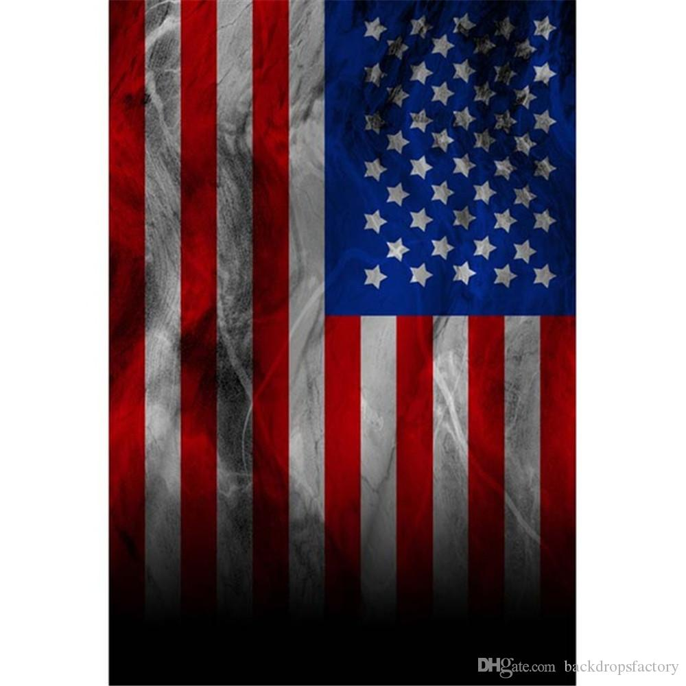 2018 vintage american flag photography backdrops vinyl digital