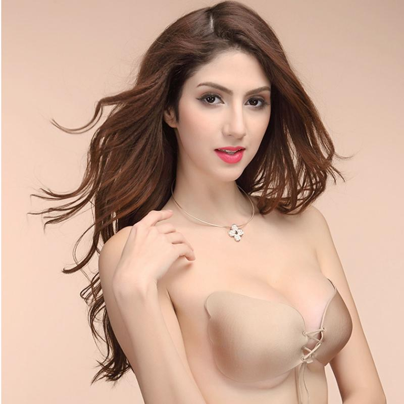 ed649c94ac80d 2019 Breast Lift Breast Petals Silicone Bra Nipple Cover Sexy Roupa  Interior Invisible Sutian Adhesive Bra Pasties For Women 25 From Honjiao