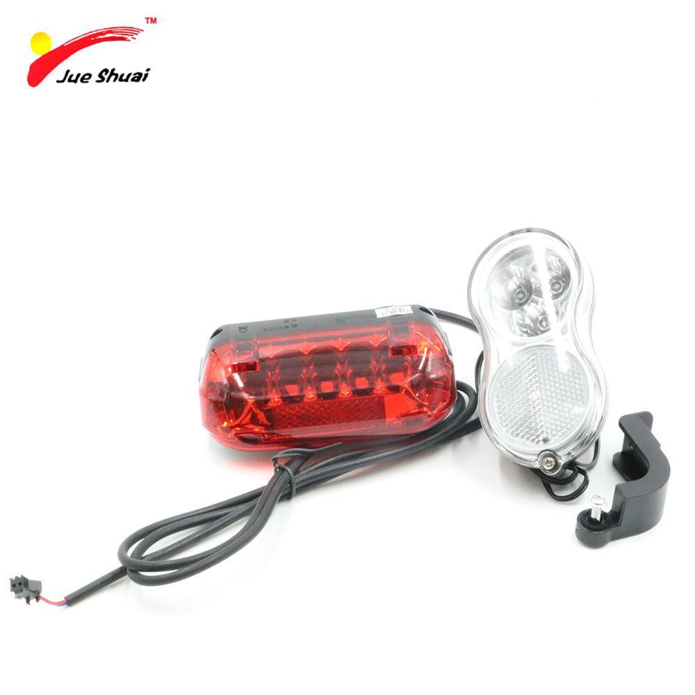 Vélo Lumière Feu De Sécurité Rouge Électrique Avertissement Led 36v Ebike Y1892809 Arrière Moto Phare Lampe n0Nwvm8