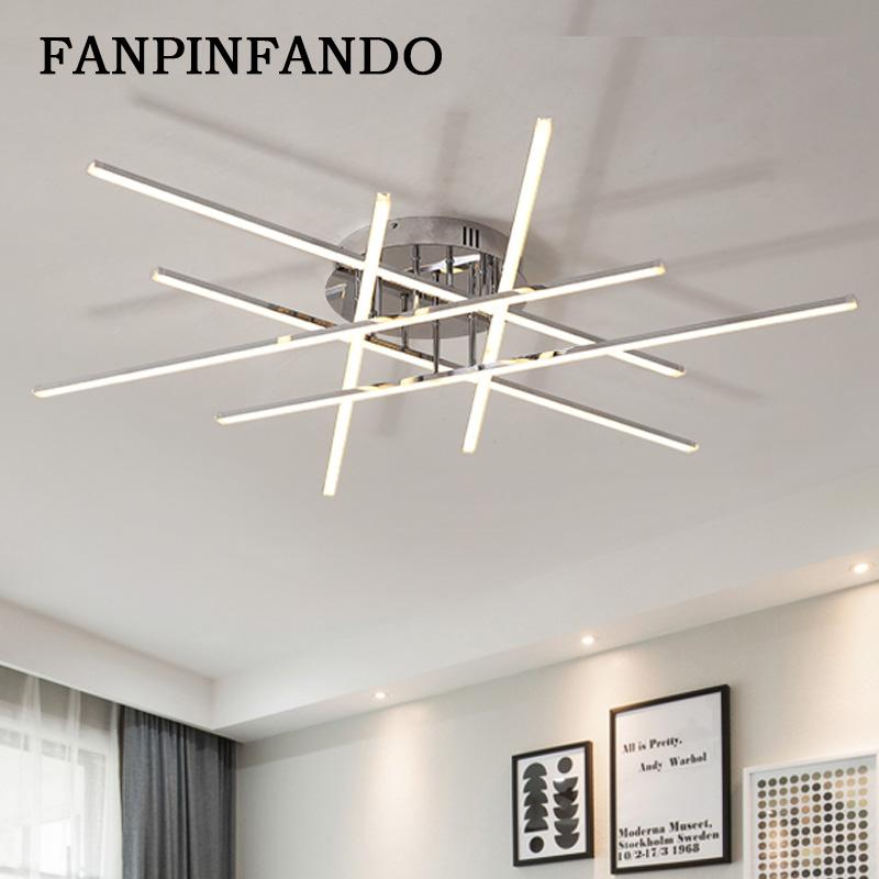Acquista Plafoniere Moderne A LED Soggiorno Plafoniera Da Cucina Con ...