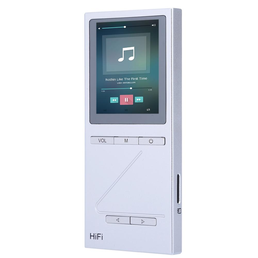 Wholesale-Original ONN X5 Hifi Audio Player MP3 DAC Player with 2 Screen  8GB Lettore with FM Support APE/FLAC/ALAC/WAV/WMA/OGG/MP3