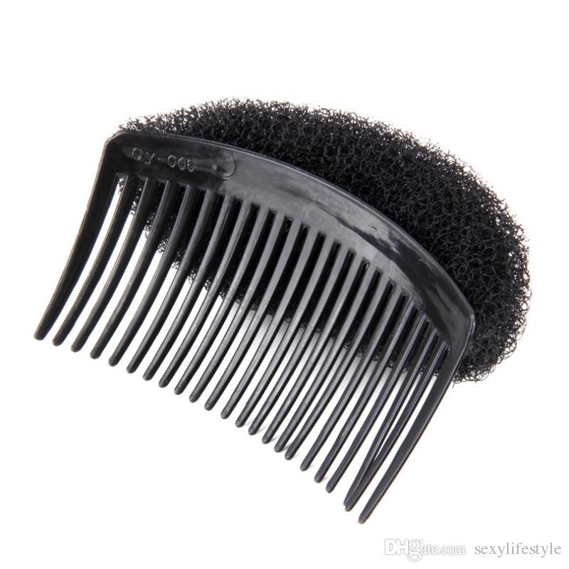 Art und Weise elegante Styling Clip Kunststoff-Stick-Brötchen-Hersteller-Werkzeug Kämme Haar-Zusätze für Frauen-Mädchen-Haar-Conditioner