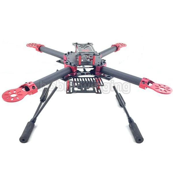 Gf 400 Fpv Carbon Fiber Quadcopter Frame 400mm Wheelbase With ...