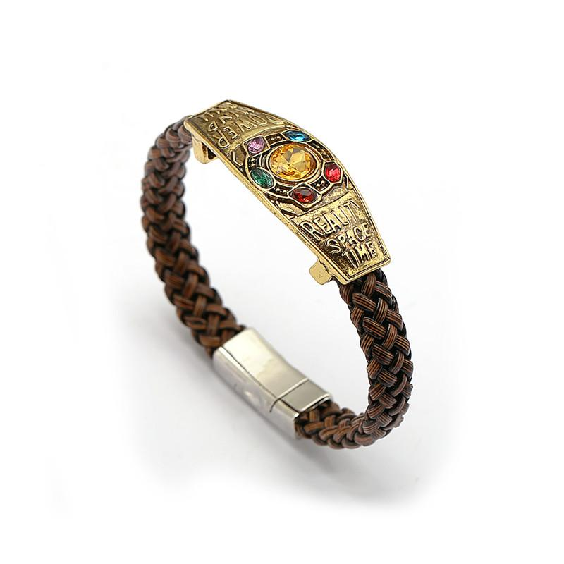 727c24f0e7526 10pcs The 3 Thanos Bracelet Infinity War Infinite Power Charm Bracelets For  Men Women Souvenir Fashion Moive Jewelry