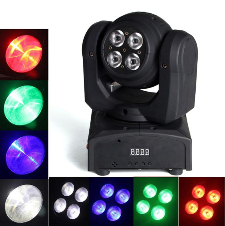 Superb Double Side Led Stage Light ,5 *10w Led Wash Moving Head Light /Each Face  Rgbw 4in1 Leds Effect Moving Head Stage Led Lights Disco Led Disco Lighting  From ...