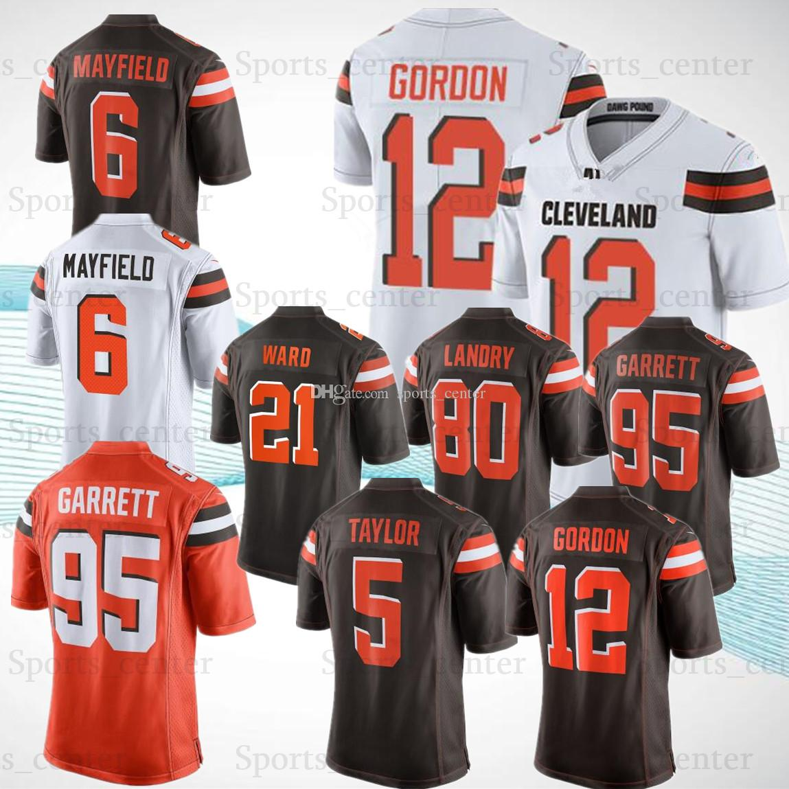 c8913233 nike cleveland browns 12 josh gordon brown game womens jersey
