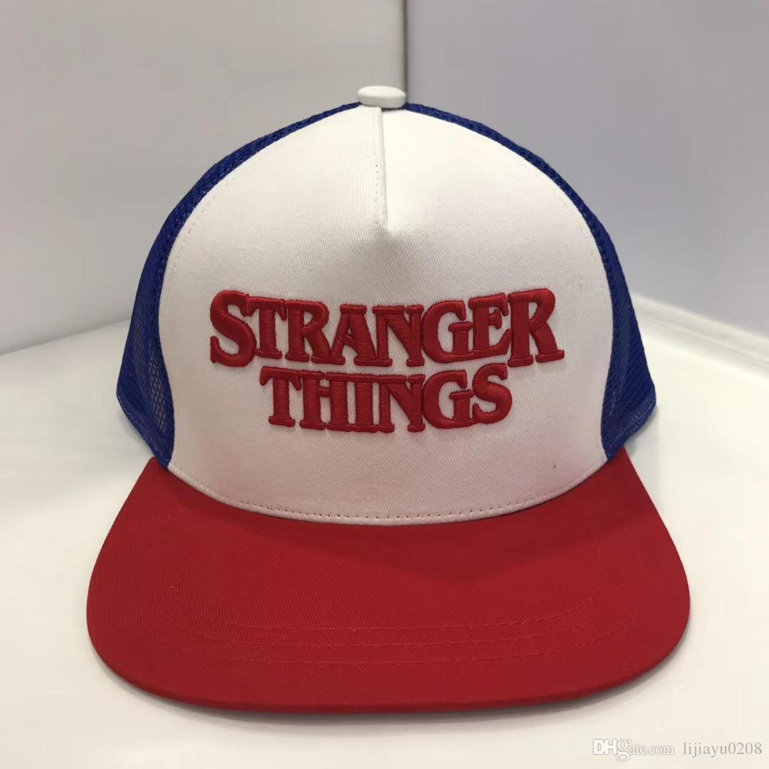 Stranger Things Caps Hats Baseball Snapback Cap Summer Fashion Cotton Hip  Hop Hat 7 Types UK 2019 From Lijiayu0208 d1cd093d82f