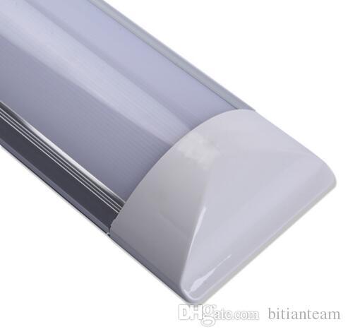 Neue oberflächenmontierte LED-Lichtleiste zweireihig Leuchtet 2FT 4FT T8-Leuchte Purificati LED-Lichtschutzrohr 20W 40W AC 110-240V
