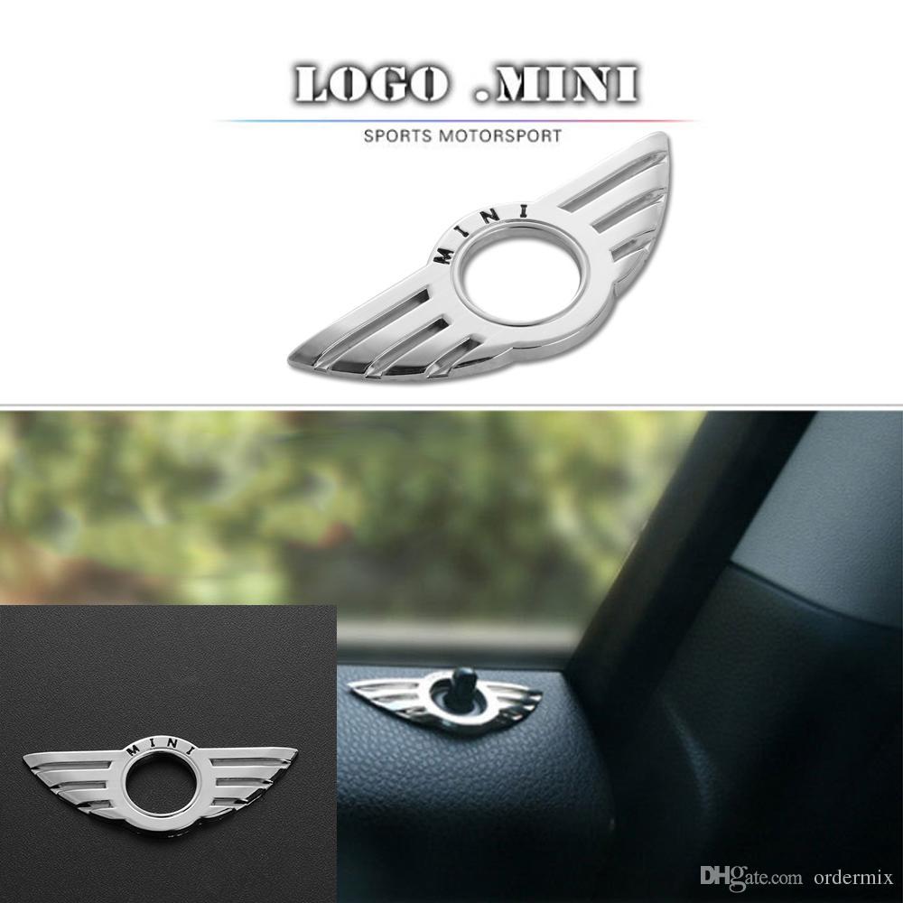 De Voiture Pin De Serrure Aile Emblème Badge Autocollants Auto Décoratifs Pour BMW MINI Cooper / S / ONE / Roadster / Clubman / Coupe Car-Styling