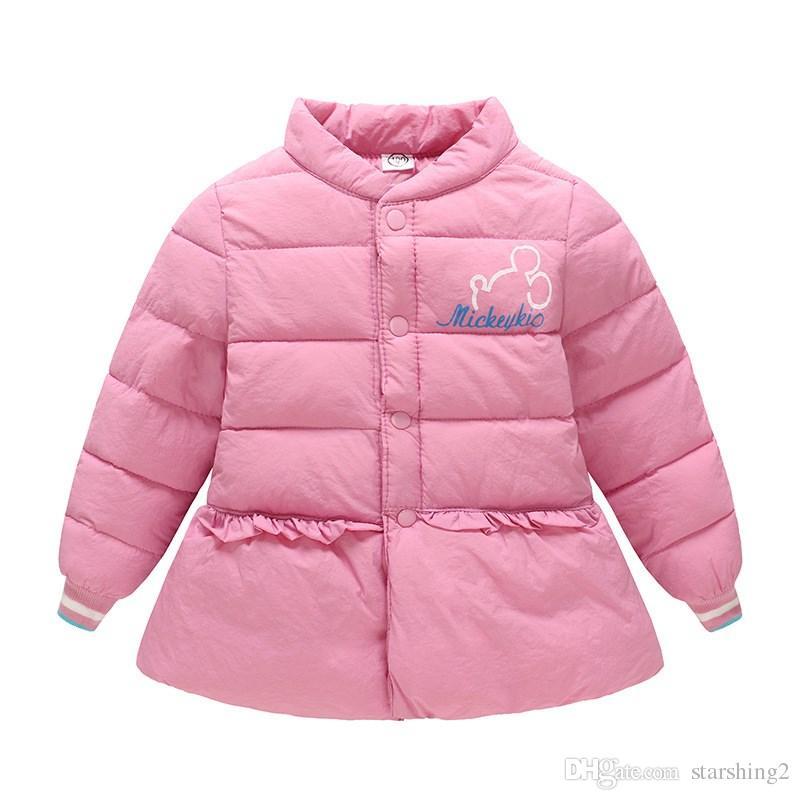 c2367776b07a8 Baby Girls Boys Winter Coats Light Kids Jacket Cotton Duck Down Parkas Winter  Children Warm Jacket Spring Fall Toddler Outerwear Coats 2 8T Down Coat  Sale ...