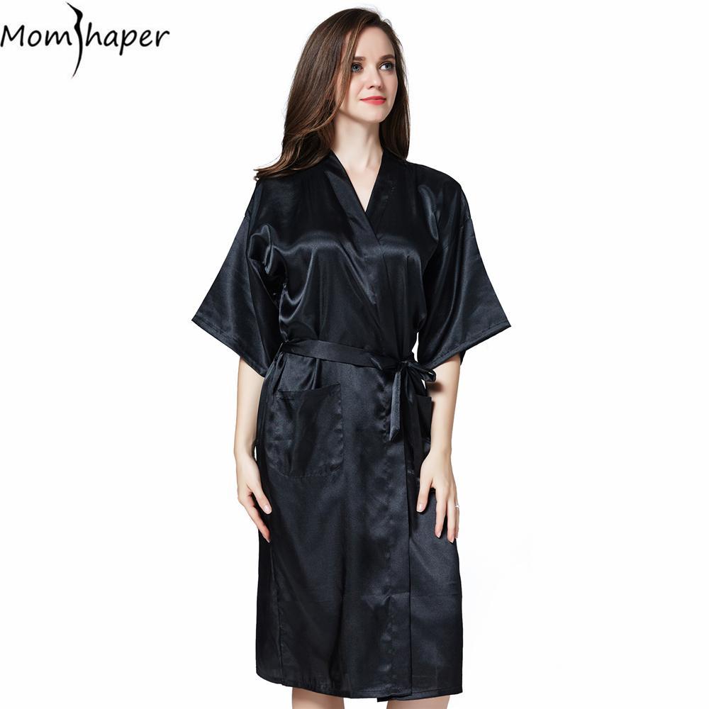 2019 Robe Bathrobe Women Kimono Bridesmaid Robes Pajamas Silk Gowns Women S  Home Robes Clothing Clothes Terry Bathrobe Peignoir From Zanzibar e4ad0b458